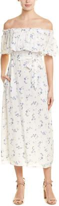 Rebecca Taylor Francine Floral Silk Maxi Dress