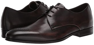Canali Bleached Calfskin Oxford (Brown) Men's Shoes