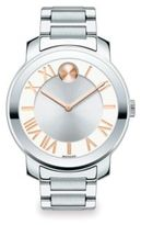 Movado Bold Luxe Stainless Steel Bracelet Watch/39MM