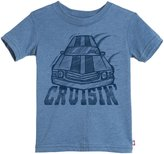 City Threads Cruisin' Car Soft Heathered Jersey Tee (Toddler/Kid) - Smurf - 3T