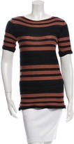 Marni Striped Textured T-Shirt