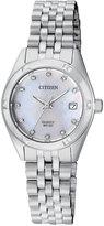 Citizen Women's Quartz Stainless Steel Bracelet Watch 26mm EU6050-59D