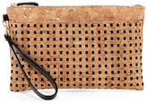 Sondra Roberts Perforated Cork Wristlet