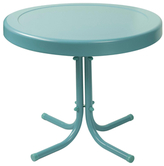 Crosley Retro Caribbean Side Table