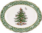 Spode Christmas Tree Embossed Large Platter