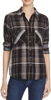 Free People Wesley Plaid Shirt