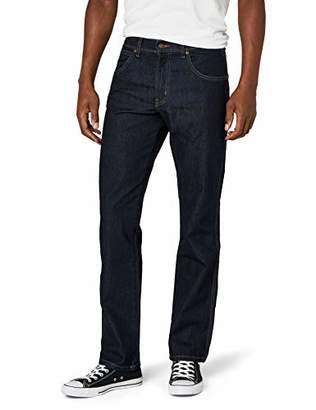 Wrangler Men's Regular Fit Staight Leg Jeans, Rinsewash, 40W/30L