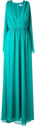 MSGM Draped Evening Dress