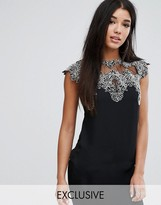 Lipsy top with Lace Detail