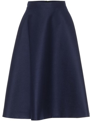 Marni Stretch-wool midi skirt