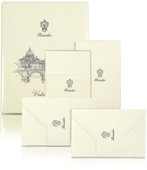 Pineider Vaticano - 25 Ivory Deckle-Edged Note Cards