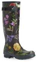 Hunter 'Royal Horticultural Society' Print Waterproof Rain Boot