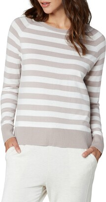 Liverpool Los Angeles Stripe Raglan Sweater