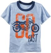 Carter's Baby Boy Motorcycle Graphic Ringer Tee