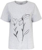 Oliver Bonas Doodle Floral T-Shirt