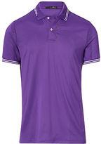 Ralph Lauren Rlx Golf Custom Fit Jacquard Polo Shirt