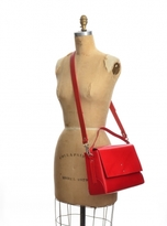 Kate Sheridan HALO BAG in Orange Red