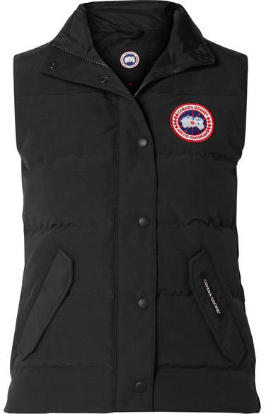 Canada Goose Freestyle Quilted Shell Down Vest - Black