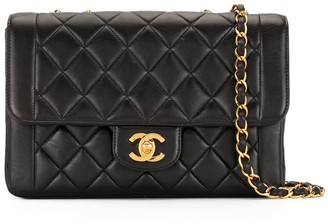 Chanel Pre Owned 1994 Diamond-Quilted Flap Shoulder Bag