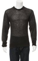 Marc Jacobs Open Knit Crew Neck Sweater