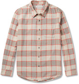 Outerknown - Plano Checked Organic Cotton-flannel Shirt