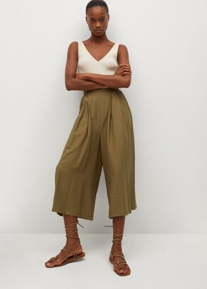 MANGO Fluid culotte trouser