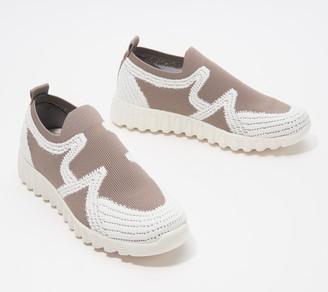 Bernie Mev. Knit Slip-On Sneakers - Nadin