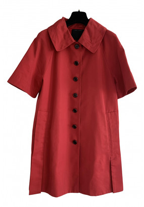Marc Jacobs Red Cotton Coats