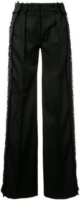 Thierry Mugler wide-leg straight trousers