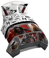 Star Wars Ep7 Live Action Red 3 Piece Twin Sheet Set