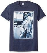 FEA Men's Kurt Cobain Standing by Bus Photo Mens T-Shirt
