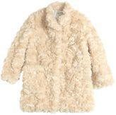 Simonetta Faux Fur Coat