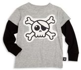 Nununu Toddler's & Little Boy's Skull Tee