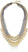 Lucky Brand Abalone Multi-Layer Necklace