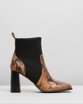 Senso Women's Brown Heeled Boots - Zed II - Size 40 at The Iconic