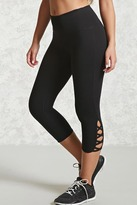 Forever 21 Active Crisscross Capri Leggings