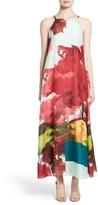 Lafayette 148 New York Women's Leonissa Print Silk Maxi Dress