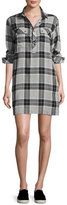 Current/Elliott The Lara Shirtdress, Foxworth Plaid