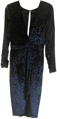 Gucci Blue Velvet Dresses