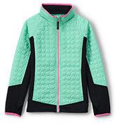 Classic Girls Primaloft Hybrid Jacket-Turquoise Bay Heather