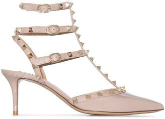 Valentino Caged Rockstud 65mm pumps