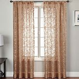 JCPenney Palmetto Scroll Rod-Pocket Sheer Panel