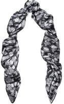 Just Cavalli Printed Silk Scarf