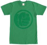 Fifth Sun Men's Tee Shirts KELLY - Kelly Green Hulk Tonal Tee - Men