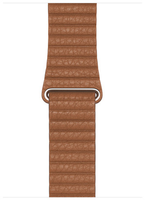 Apple 44mm Saddle Brown Leather Loop - Large