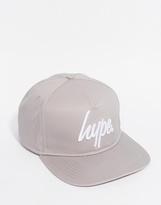Hype Logo Snapback Cap - Grey