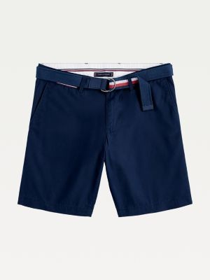 Tommy Hilfiger Big & Tall Brooklyn Lightweight Belted Shorts