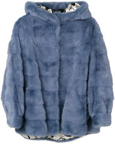 Simonetta Ravizza cropped fur jacket - women - Silk/Mink Fur - 38