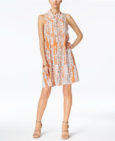 Alfani Circle-Print Shirtdress, Only at Macy's