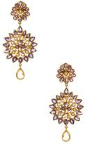 Amrita Singh Misaal 14K Yellow Gold, Amethyst & Citrine Earrings